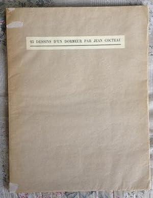 25 Dessins d'un Dormeur par Jean Cocteau: Jean COCTEAU