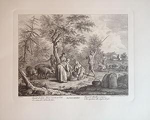 I Mesi di Giuseppe ZOCCHI incisi da Francesco BARTOLOZZI 1735-1752: Giuseppe ZOCCHI