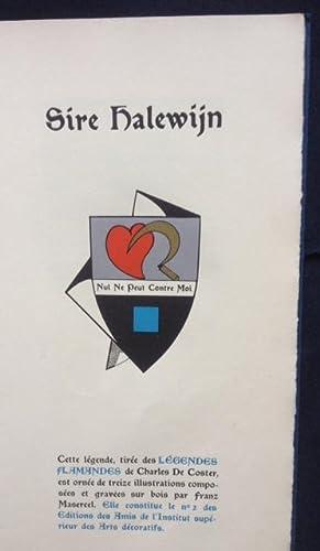 Sire Halewijn: Charles De COSTER