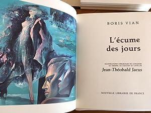 L'Ecume des Jours. Illustrations originales en couleurs: Boris VIAN