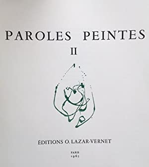 Paroles peintes II: Yves de BAYSER