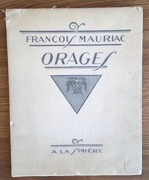 ORAGES. Pointes d'argent de O. Coubine: François MAURIAC