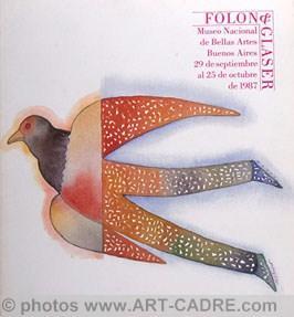 FOLON Jean-Michel - Folon & Glaser: FOLON Jean-Michel -