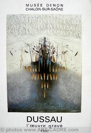DUSSAU Georges - Catalogue raisonné de l'œuvre: DUSSAU Georges -