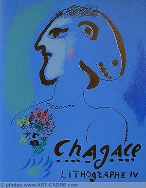 CHAGALL Marc Lithographe IV 1969 - 1973: CHAGALL Marc -
