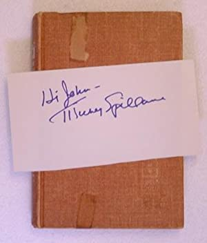 Kiss Me, Deadly (Signed copy): Mickey Spillane