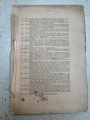 Memoirs of the Geological Survey of India,: Henry Hubert Hayden,