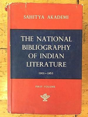 The National Bibliography Of Indian Literature, 1901-1953.: B S Kesavan;