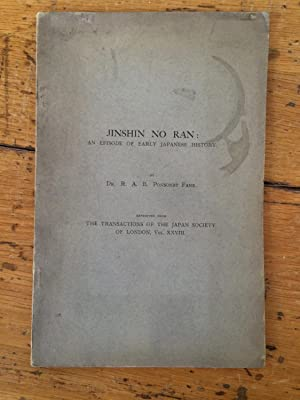 JINSHIN NO RAN; An Episode of Early: Richard Arthur Brabazon
