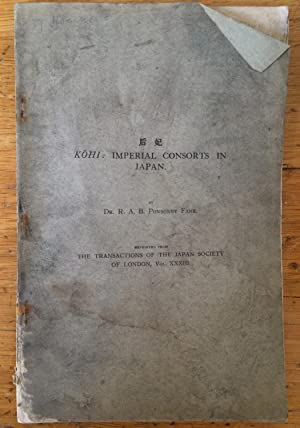 """Kohi: Imperial Consorts in Japan [""""Reprinted from: Richard Arthur Brabazon"""