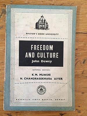 john dewey freedom and culture pdf