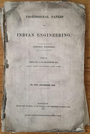 Professional Papers on Indian Engineering. Vol. II: Lieut.-Col. A.M. Brandreth