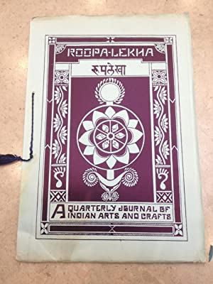 Roopa-Lekha. An Illustrated Quarterly Journal of Indian: K.H. Vakil, Ajit