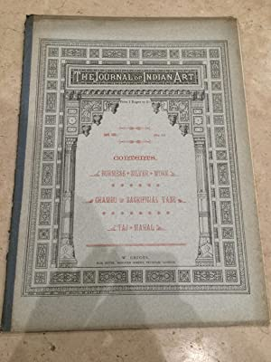 Journal of Indian art and industry, Number