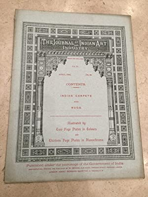 Journal of Indian art and industry, vol.