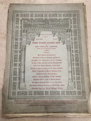 Journal of Indian art and industry, vol.: Lawson, Sir Charles