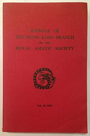Journal of the Hong Kong Branch of: Hong Kong Branch