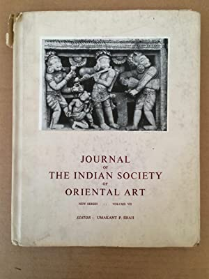 Journal of The Indian Society of Oriental: Shah, U.P. (ed.)