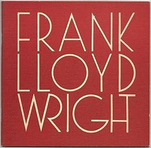 Frank Lloyd Wright: A Bibliography. Issued on: Starosciak, Kenneth; Starosciak,