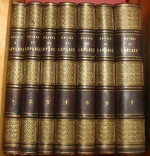 Oeuvres de Laplace (7 Volumes): Laplace, Pierre-Simon