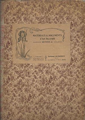 Materiaux & Documents d'Art Decoratif