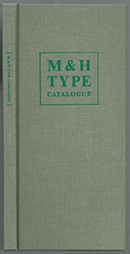 Catalogue of Printing Types Offered by M & H TYPE