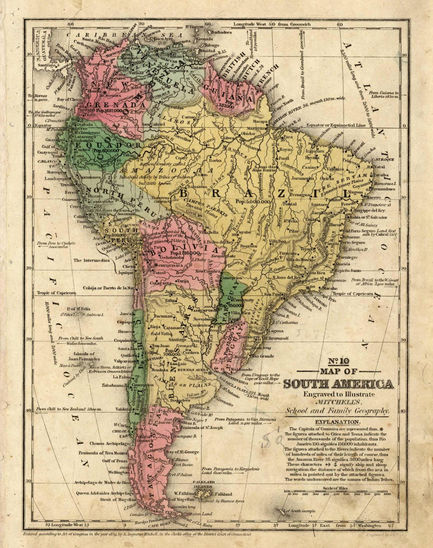 Map of South America   [ ] (bi_30493325715) photo