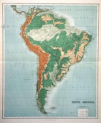 Orographical Map of South America   [ ] (bi_30493331851) photo