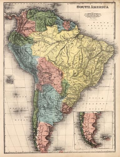 Map of South America Belden [ ] (bi_30493332527) photo