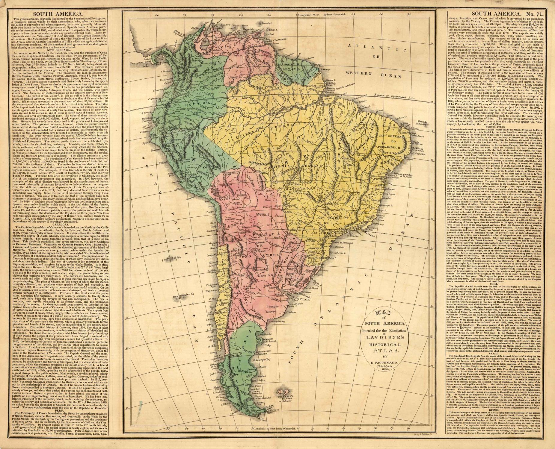Map of South America M. Lavoisne [ ] (bi_30493334663) photo