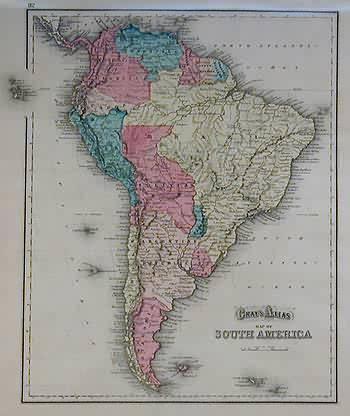 Grays Atlas Map of South America'   [ ] (bi_30493349032) photo