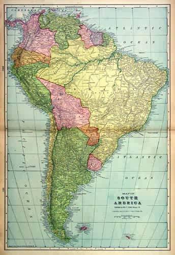 Map of South America George F. Cram [ ] (bi_3671909637) photo