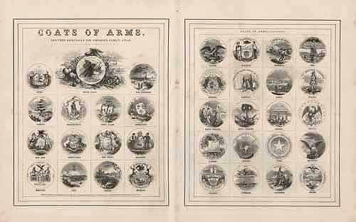 Coats of Arms of the States of the US