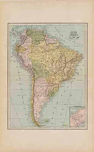 Map of South America People's Publishing Co. [ ] (bi_561609640) photo