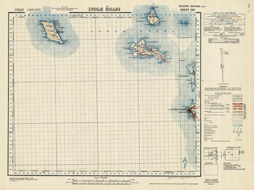 Isole Egade (Marettimo, Levanzo, Favignana, Grande, Maraone, Formica ...