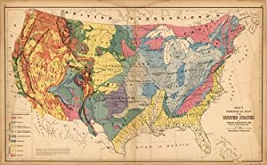 Gray's Geological Map of the United States: O.W.Gray