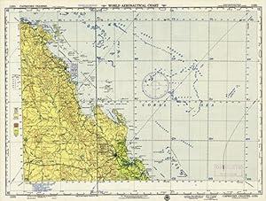 World Aeronautical Chart - Capricorn Channel - Queensland, Australia: U.S. Coast and Geodetic ...