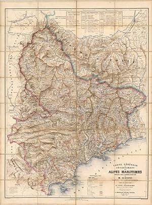 Carte Cà nà rale du Departement des: E. Andriveau-Goujon