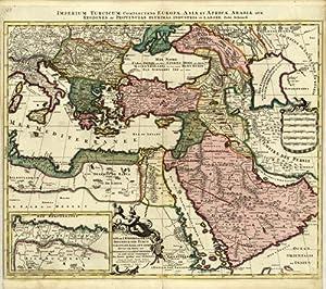 Imperium Turcicum; Complectens Europae, Asia, et Africae,: Pieter Schenk