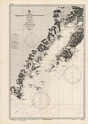 Japan Sea- RussianTartary- Troitsa Bay to the Eastern Bosporus including Amur Bay- From Russian ...