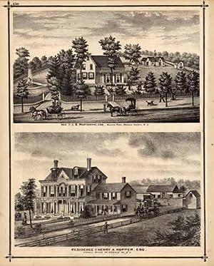 Residence of J.B. Wortendyke, Esq., Midland Park,: A.H. Walker