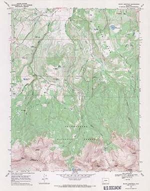 Mount Sneffels Quadrangle, Colorado: United States Geological Survey