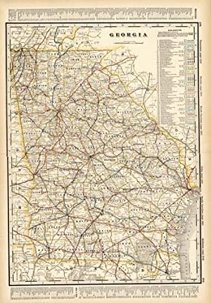 Georgia (Railroad Map): George F. Cram