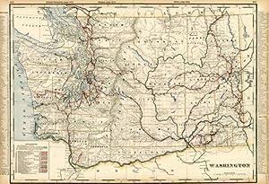 Washington (Railroad Map): George F. Cram