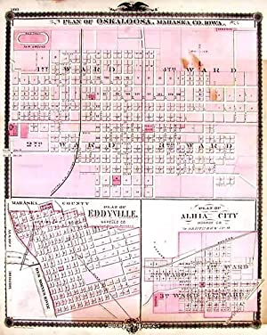 Plan of Oskaloosa, Mahaska Co., Plan of: A.T. Andreas