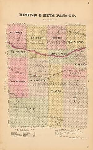 Brown & Keya Paha Counties, Nebraska: Everts & Kirk