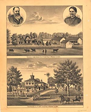 Residence of Lewis Shirley (Cherry Valley Tp.,: H.R. Page &