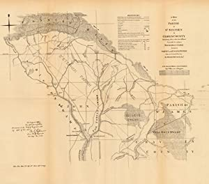 A Map of the Parish of St. Stephen in Craven County: U.S. Engineer Office
