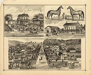 Residence of Ruel Jones, Frewsburg, Carroll, Cahutauqua: F.W. BEERS