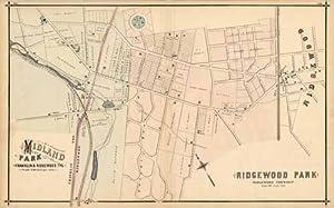Midland Park, Franklin & Ridgewood TPS; Ridgewood: A.H. Walker